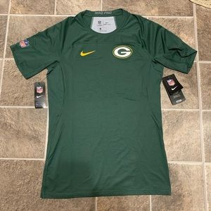 Nike Pro Green Bay Packers OnField Compression Tee
